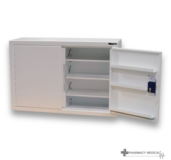 CDC203 Controlled drugs cabinet one door open