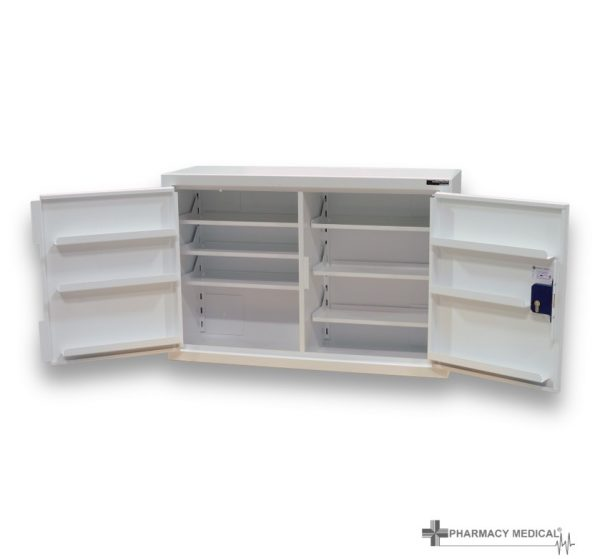 CDC203 Controlled drugs cabinet both doors open