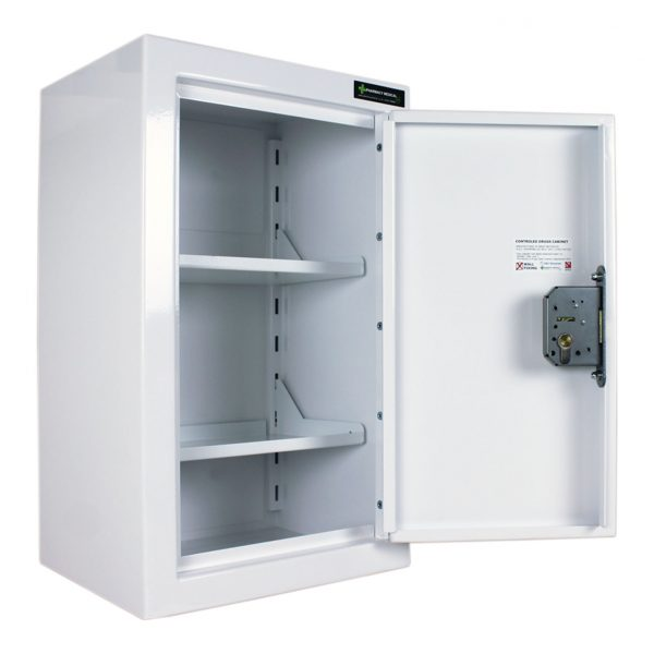 CDC905 Controlled drugs cabinet open
