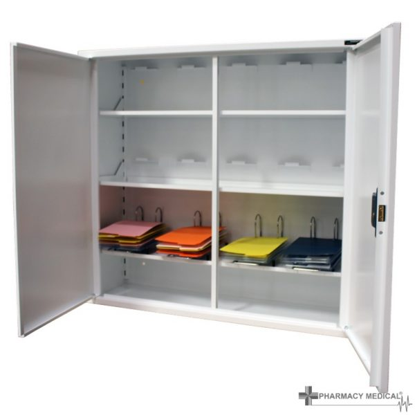 MED402 Double Door Medicine Cabinet open