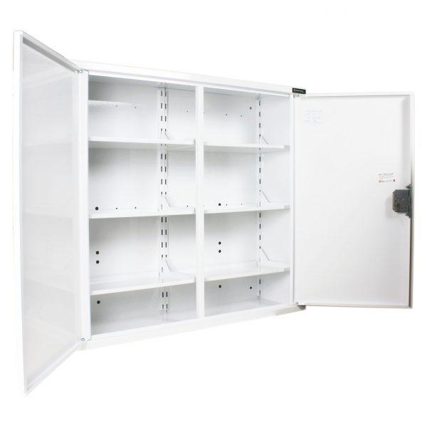 MED404 Double Door Medicine Cabinet open