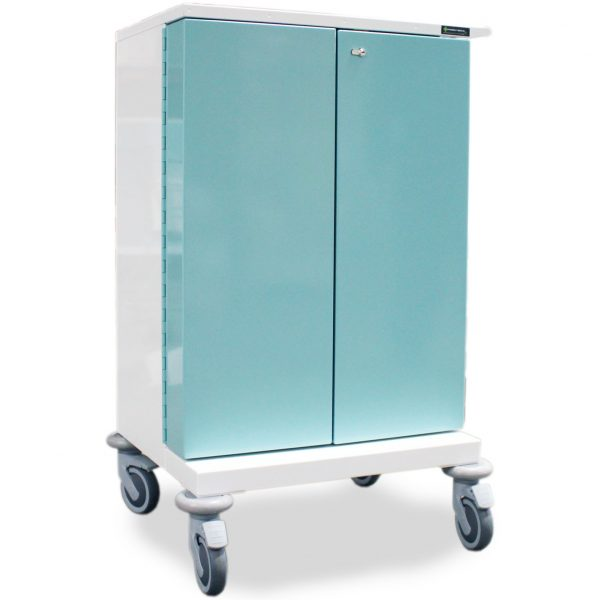 Double Door MDS Drugs Trolley
