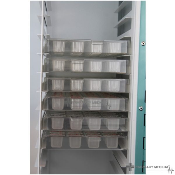 PM450 Medicine Drugs Trolley tray detail