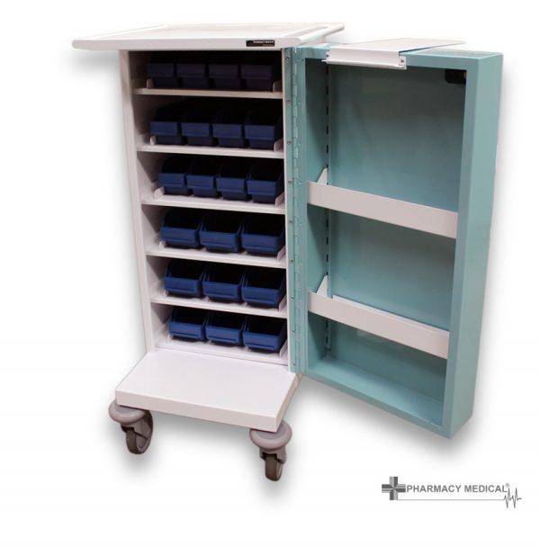 PM501 Original Packaging Drugs Trolley-Open