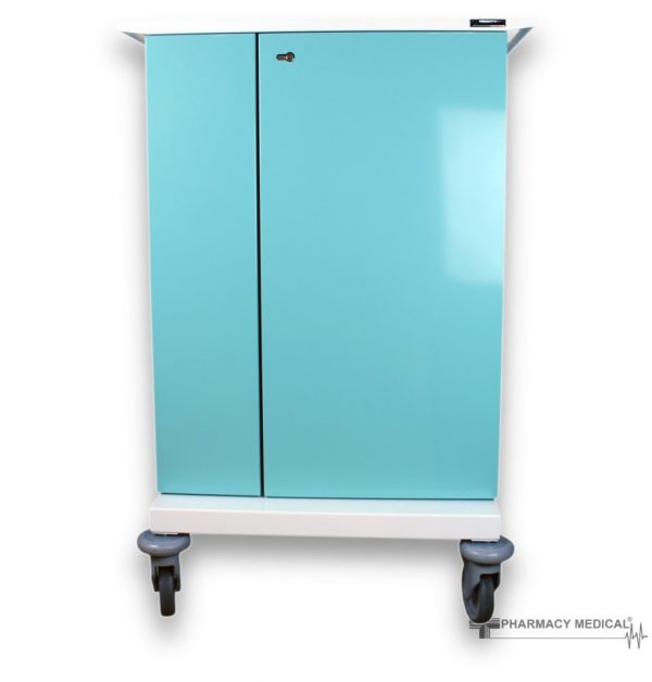 Large double door MDS Drugs trolley