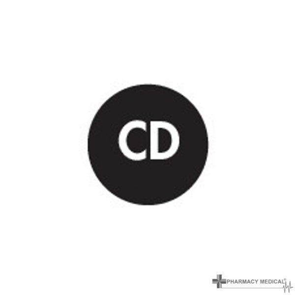 cd prescription alert stickers
