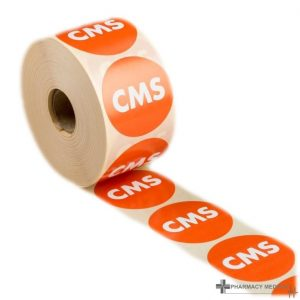 cms prescription alert stickers