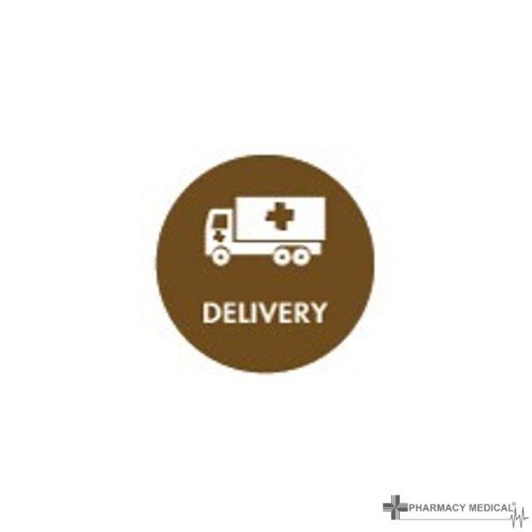 delivery prescription alert sticker