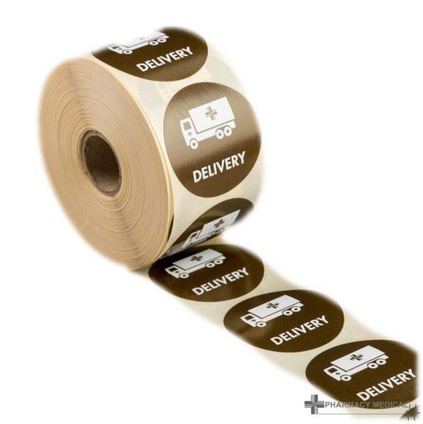 delivery prescription alert stickers
