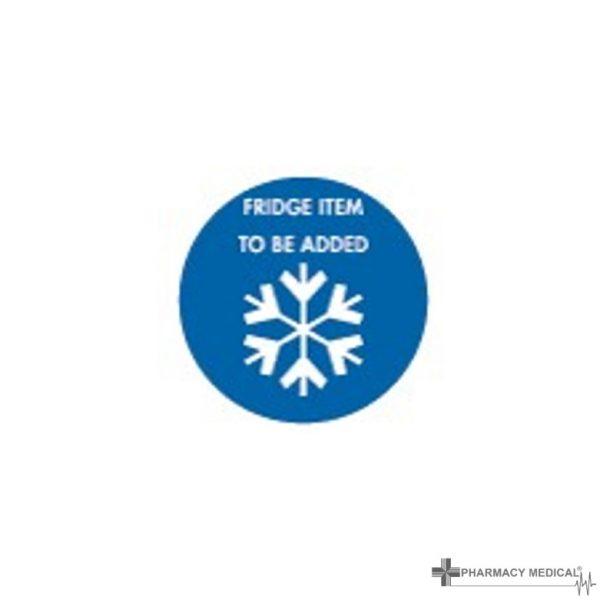 fridge item to be added prescription alert sticker