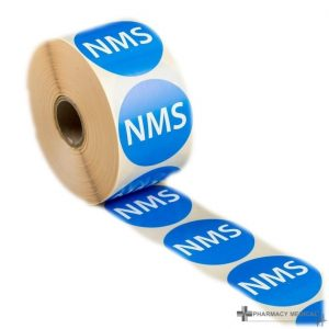 nms prescription alert stickers