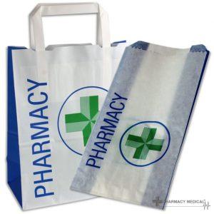 pharmacy counter bags