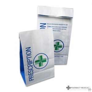 prescription counter bags