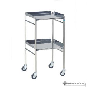 stainless steel surgical trolley