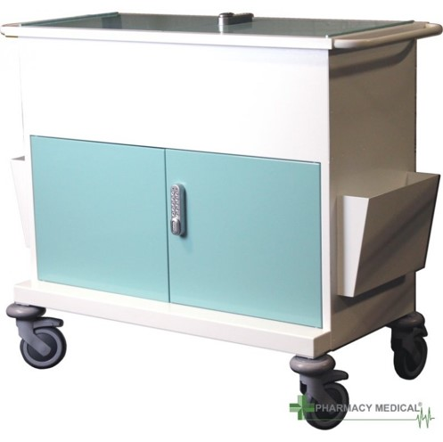 Case studies - secure medical records trolley