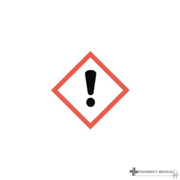General CoSHH Cabinet warning label