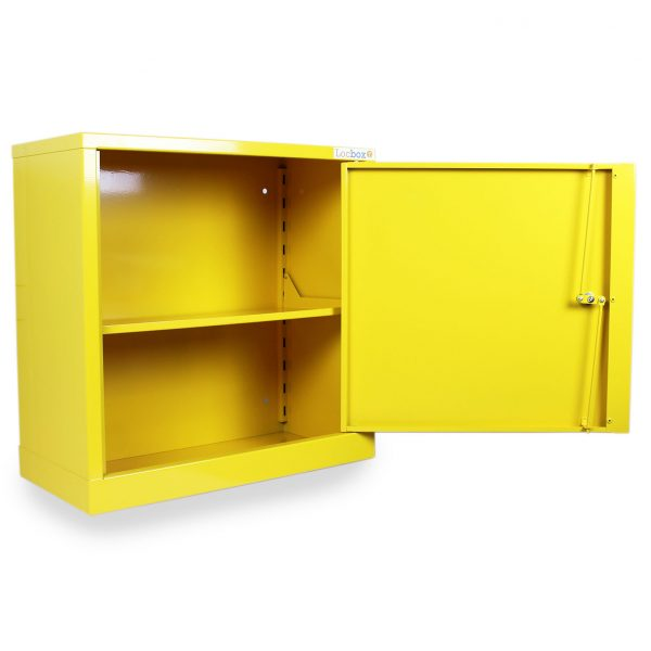haz663 hazardous substance cabinet open