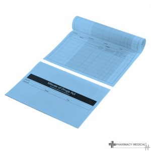 blue controlled drugs register inserts