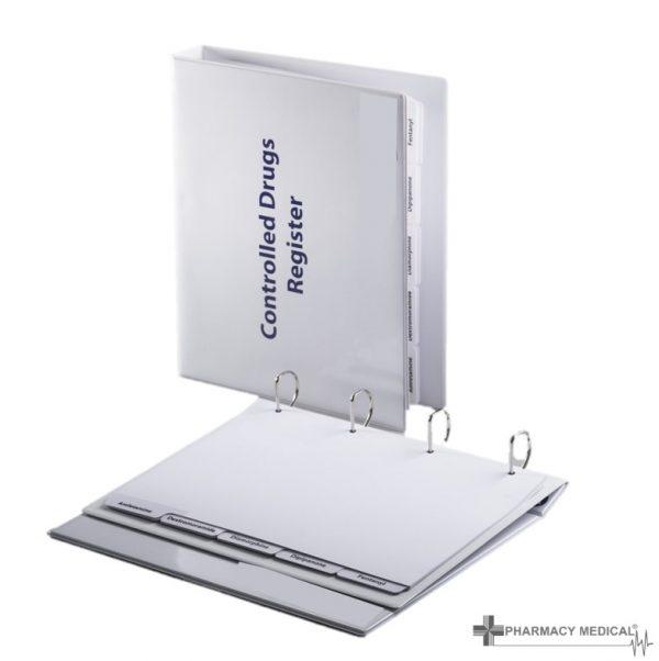 controlled drugs register binder