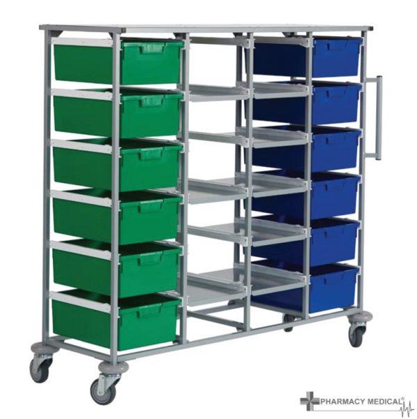 four tier carry cart