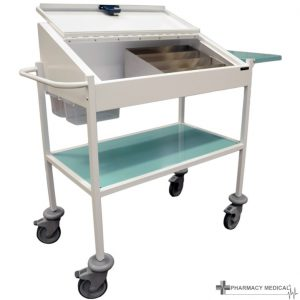 large dispensing trolley
