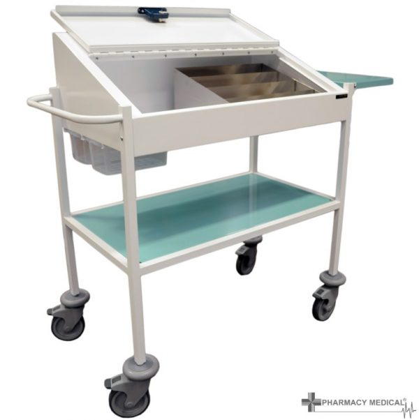 medium dispensing trolley