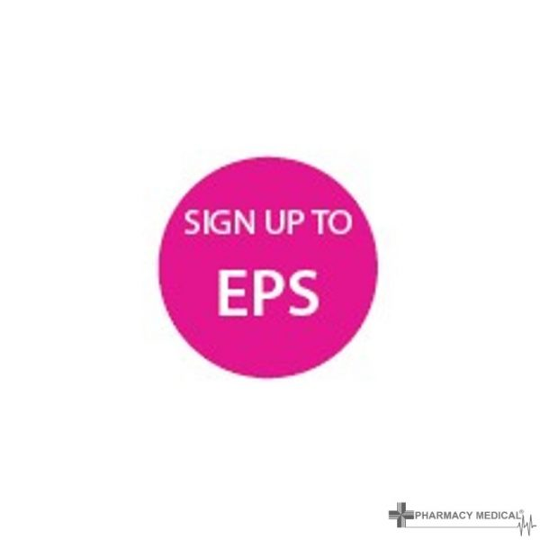 sign up to eps prescription alert stickers