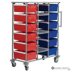 three tier carry cart