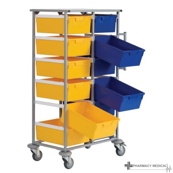 two tier carry cart
