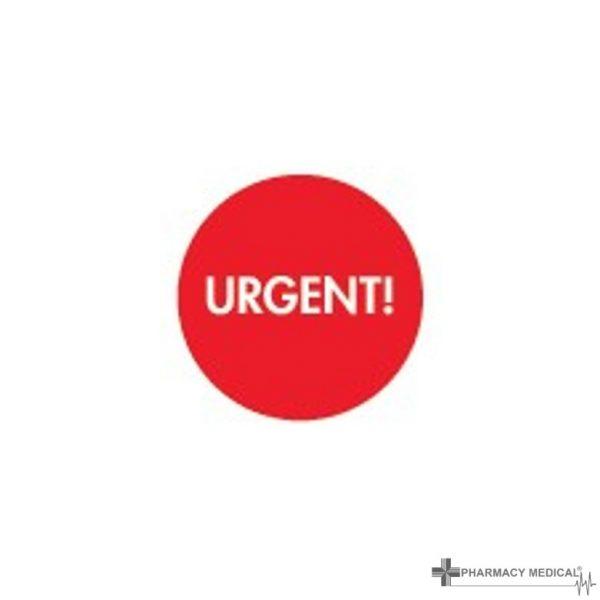 urgent prescription alert stickers
