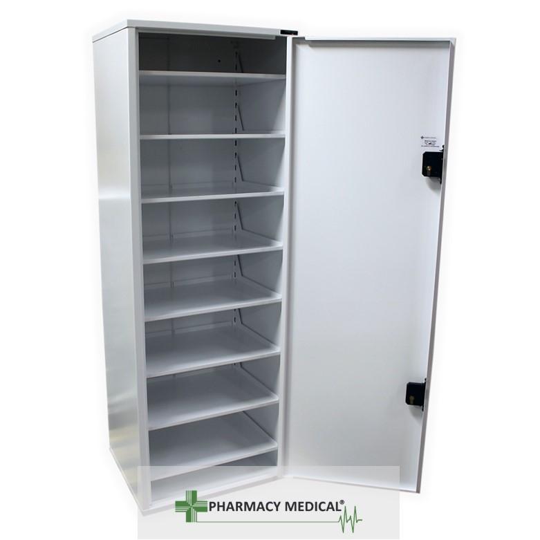 Medicine cabinet tower unit