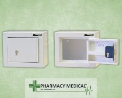Small controlled drugs cabinet