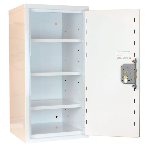 Medicine cabinets with deep shelves